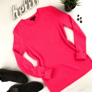 BANANA REPUBLIC Merino Ribbed Crew Neck Sweater L